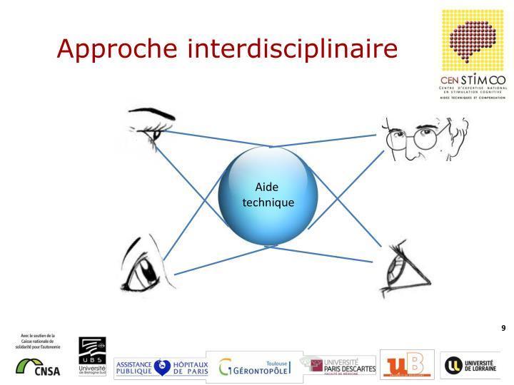 Approche interdisciplinaire