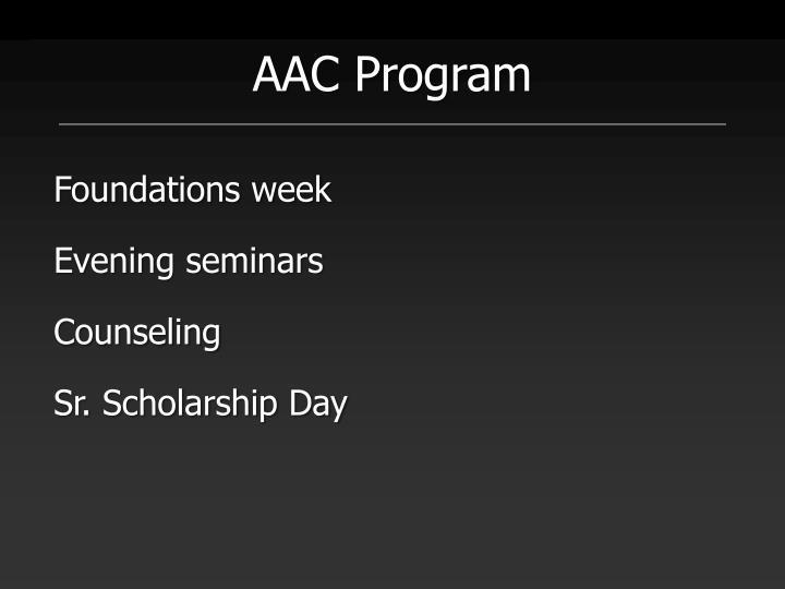 AAC Program