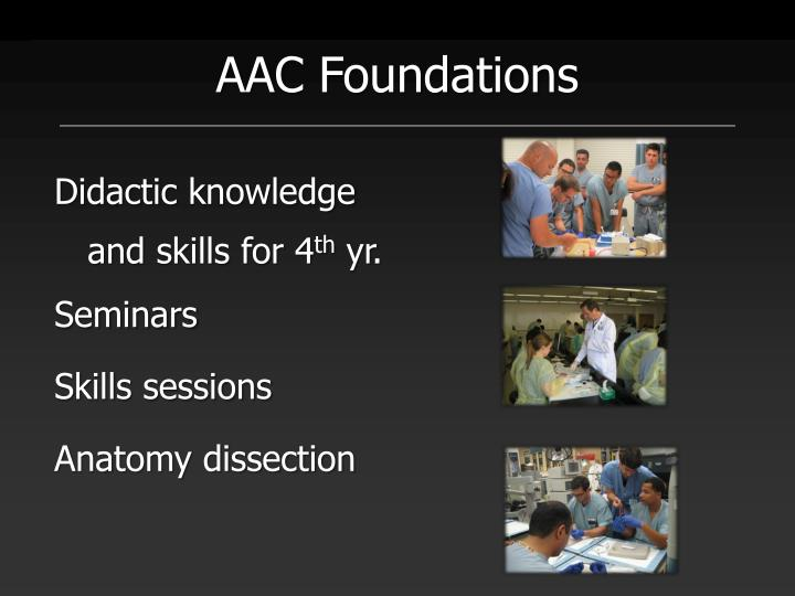 AAC Foundations