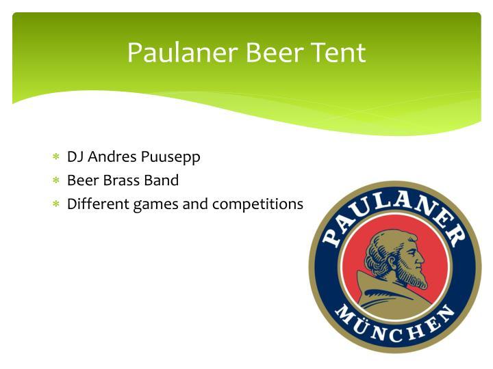 Paulaner Beer Tent