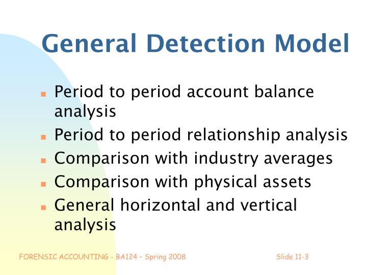 General Detection Model