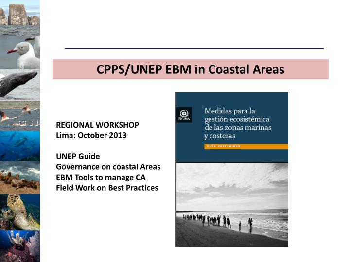 CPPS/UNEP EBM in Coastal Areas