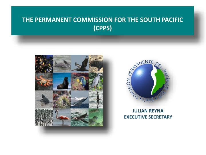 The permanent commission for the south pacific cpps