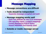 message mapping