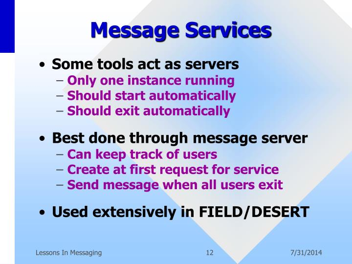 Message Services