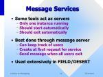 message services