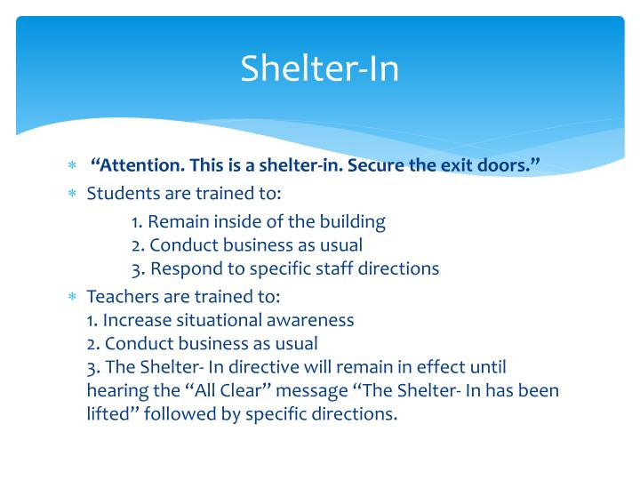 Shelter-In
