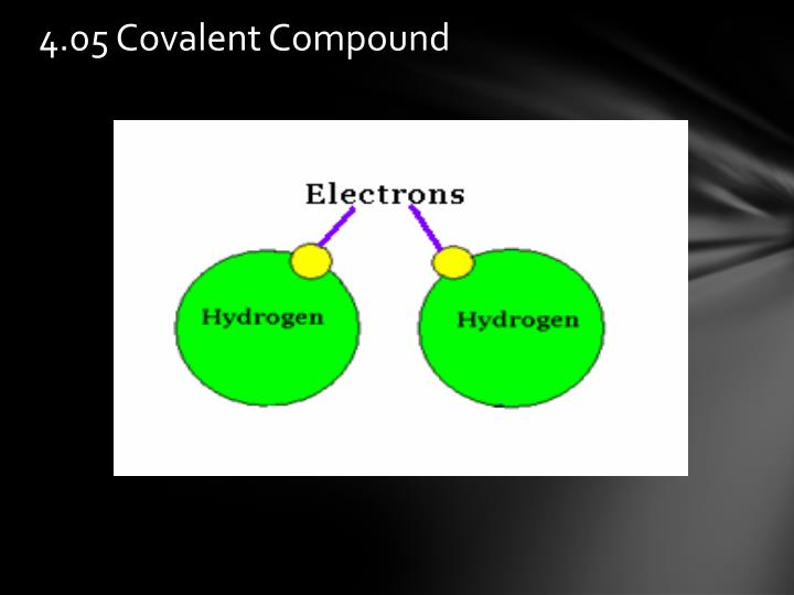 4.05 Covalent