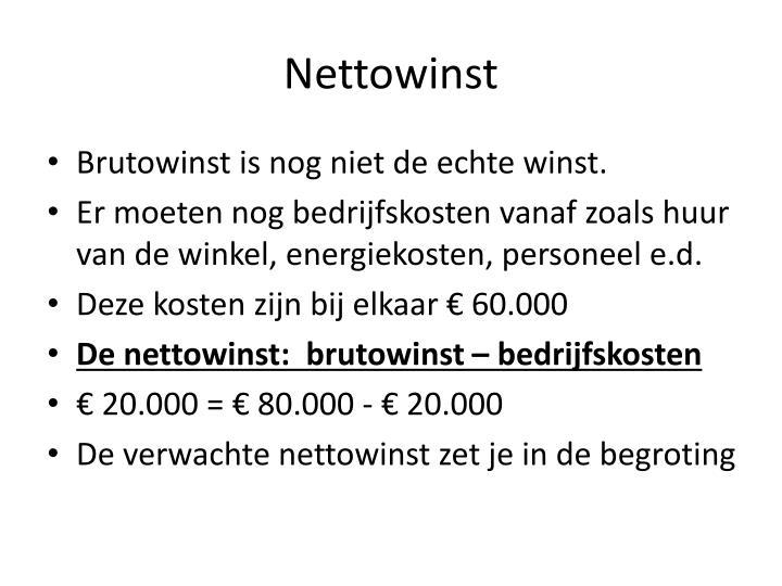 Nettowinst