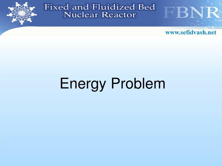 Energy Problem