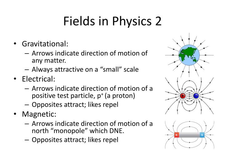Fields in Physics 2