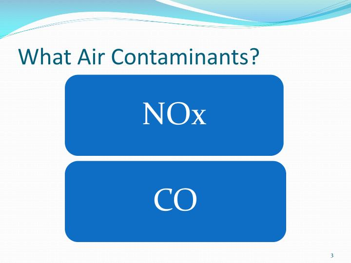 What air contaminants