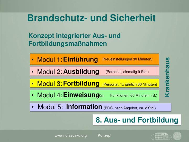 Konzept integrierter Aus- und