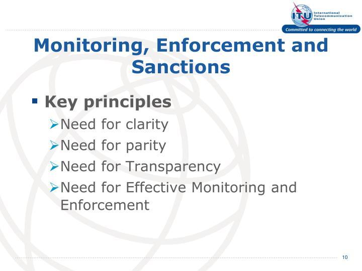 Monitoring,