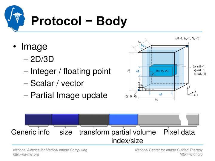 Protocol − Body