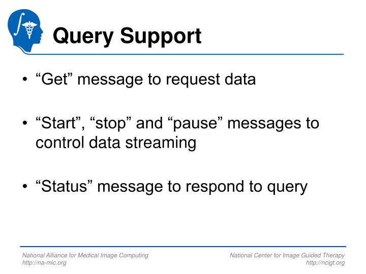 Query Support
