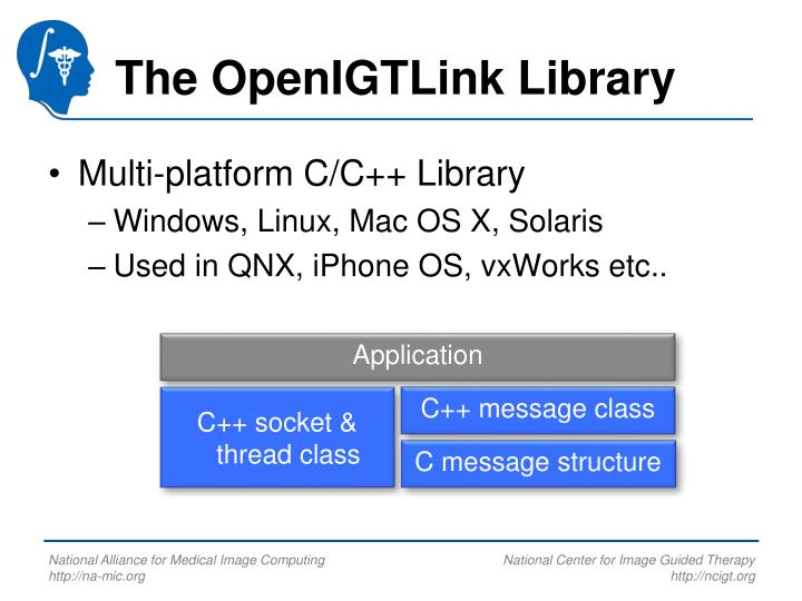 The OpenIGTLink Library