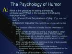 the psychology of humor1