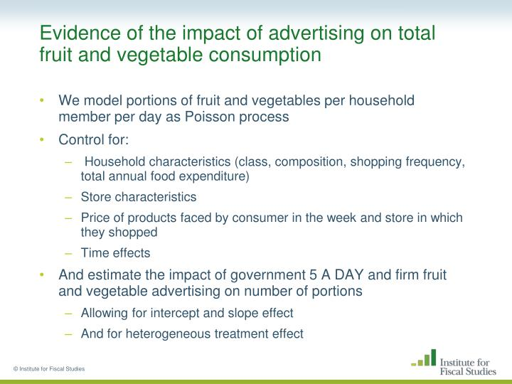 Effect of advertising presentation