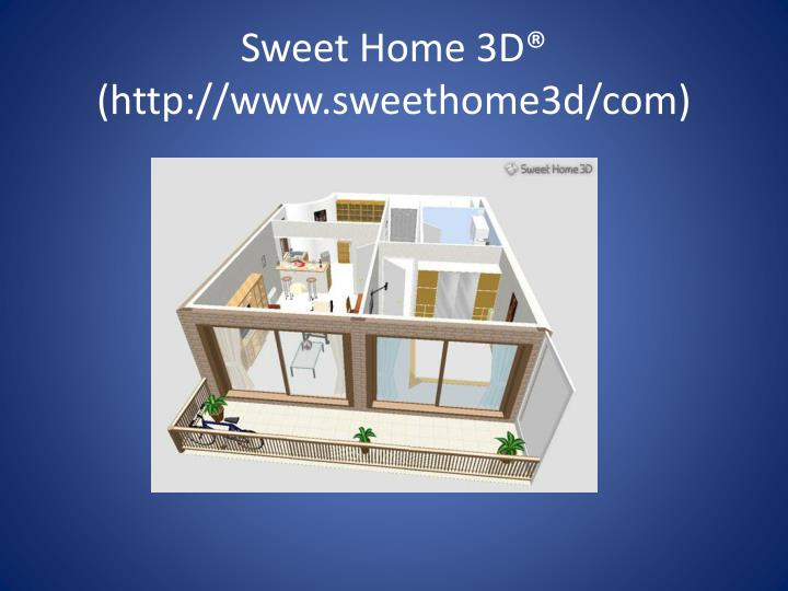Sweet Home 3D® (http://www.sweethome3d/com)