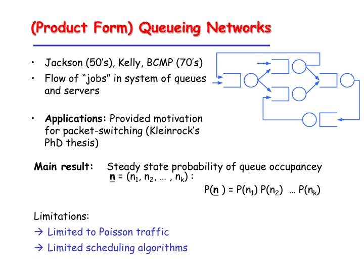 (Product Form) Queueing Networks