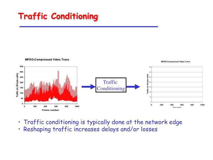 Traffic Conditioning