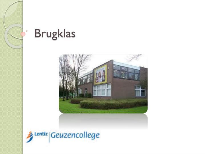 Brugklas
