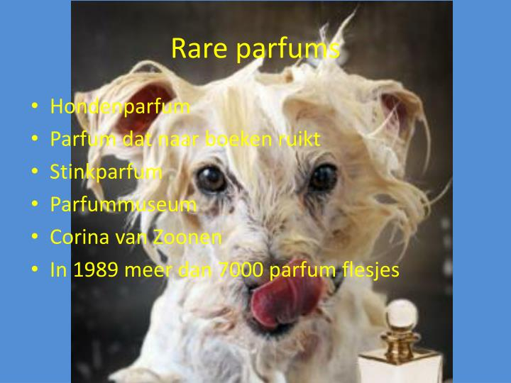 Rare parfums