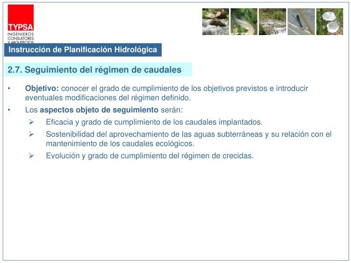 Instrucción de Planificación Hidrológica