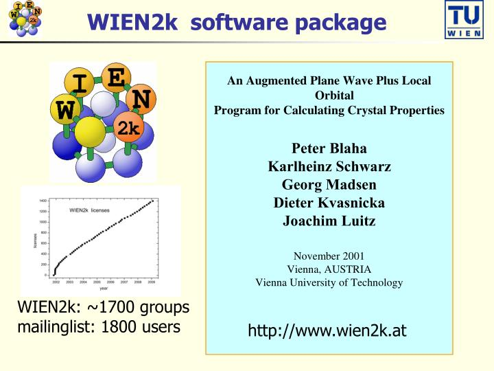 WIEN2k  software package