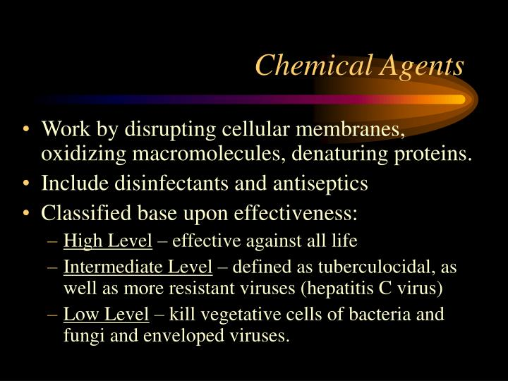Chemical Agents