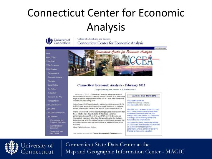 Connecticut Center for Economic Analysis
