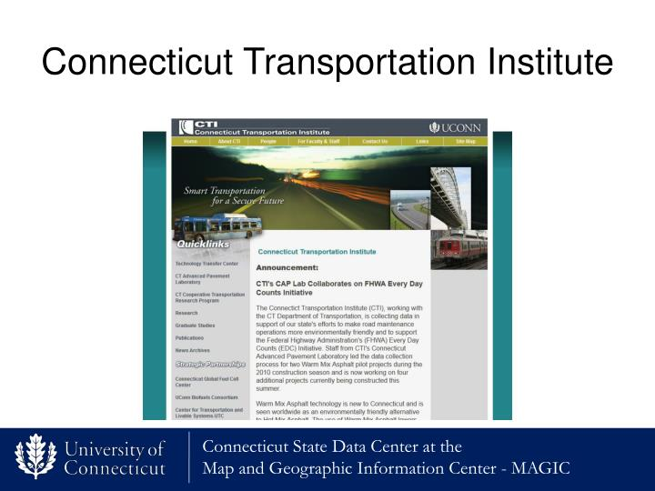 Connecticut Transportation Institute