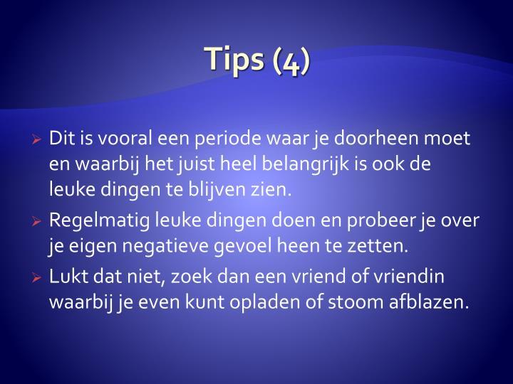 Tips (4)