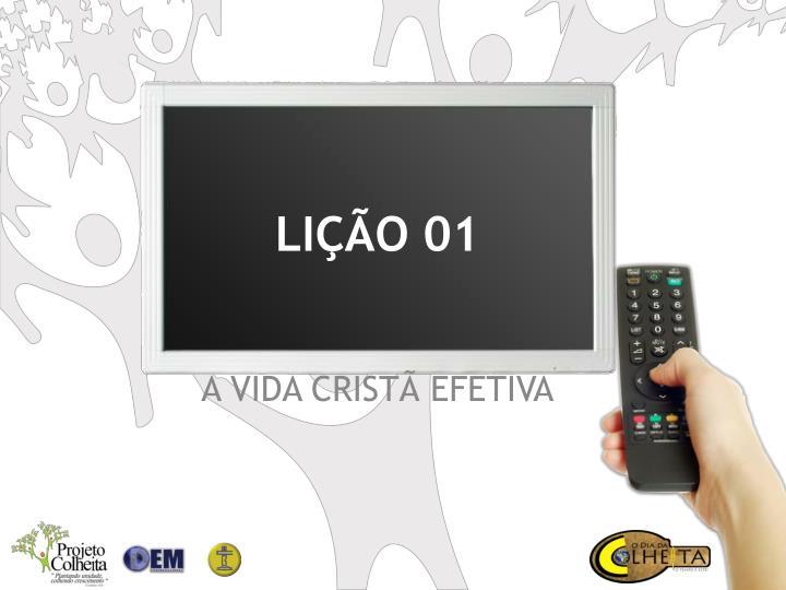 LIÇÃO 01