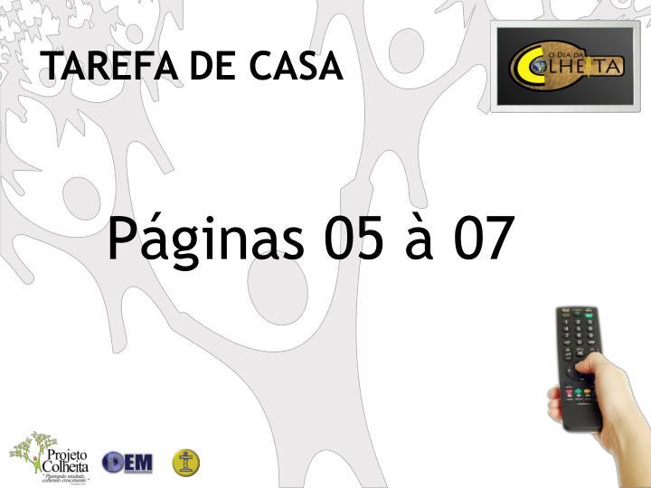TAREFA DE CASA