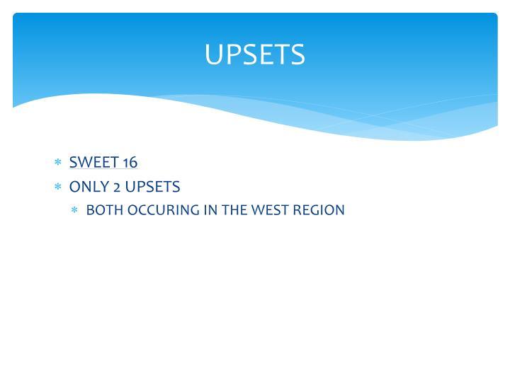 UPSETS