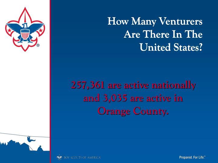 How Many Venturers