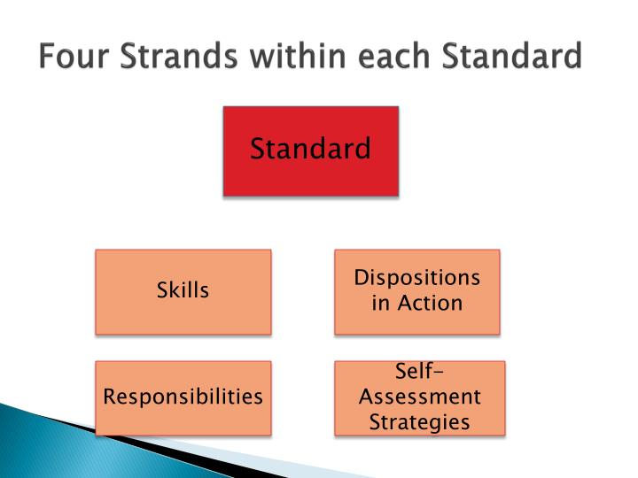 Four Strands within each Standard