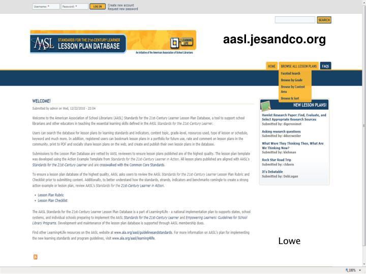 aasl.jesandco.org