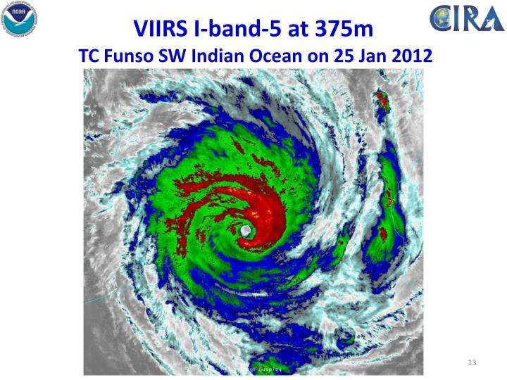 VIIRS I-band-5 at 375m