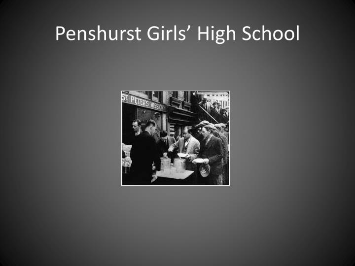 Penshurst Girls' High School
