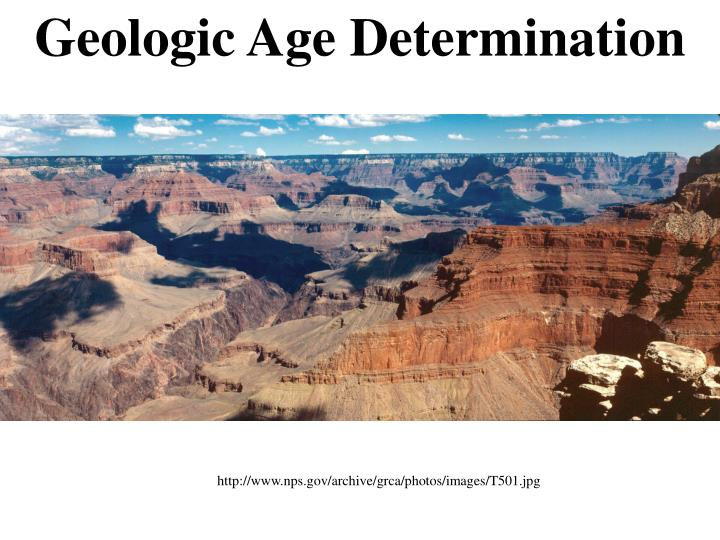 Geologic Age Determination