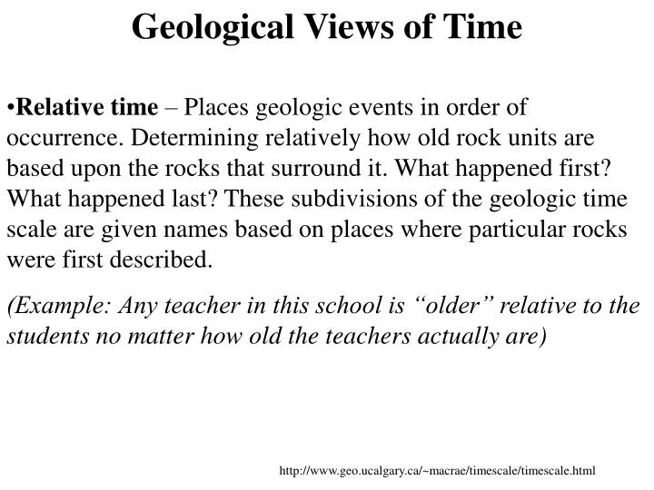Geological Views of
