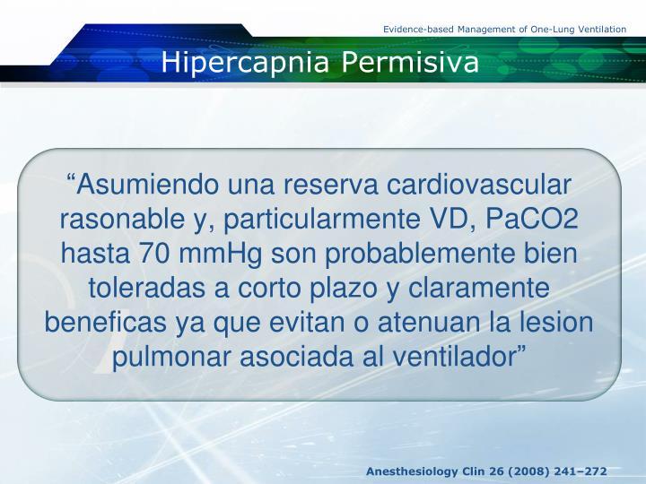 Hipercapnia
