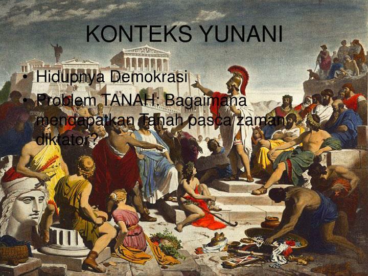 KONTEKS YUNANI