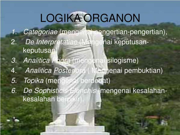 LOGIKA ORGANON