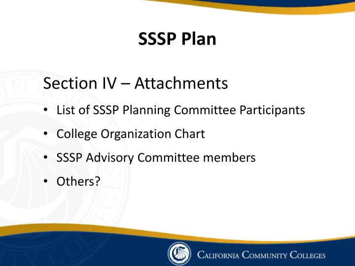 SSSP Plan