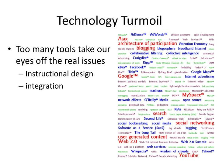 Technology Turmoil