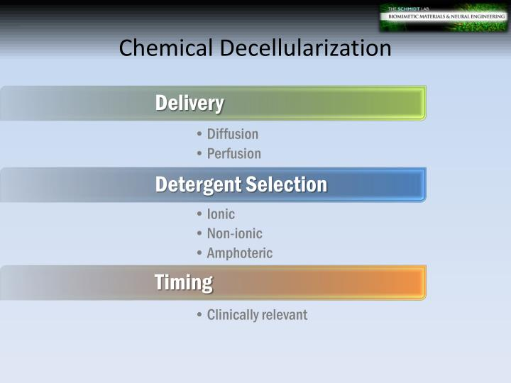 Chemical Decellularization